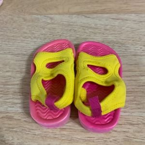 Children's Place Shoes - Children's Place Yellow and Pink Water Sandals